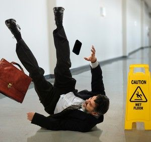 What should you do after a slip and fall accident?
