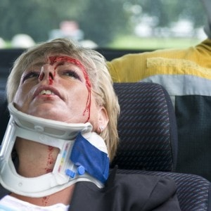 Consequences of an accident: head and neck injuries