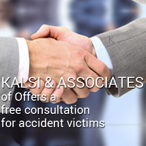 Kalsi & Associates offers a free consultation for accident victims